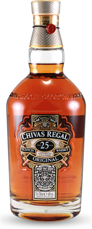 Chivas Regal Scotch 25 Year